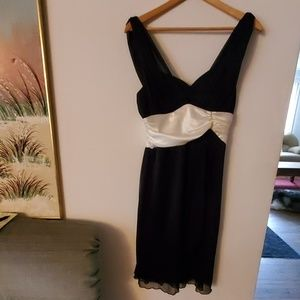 Connected Sleeveless Formal Dress - 12